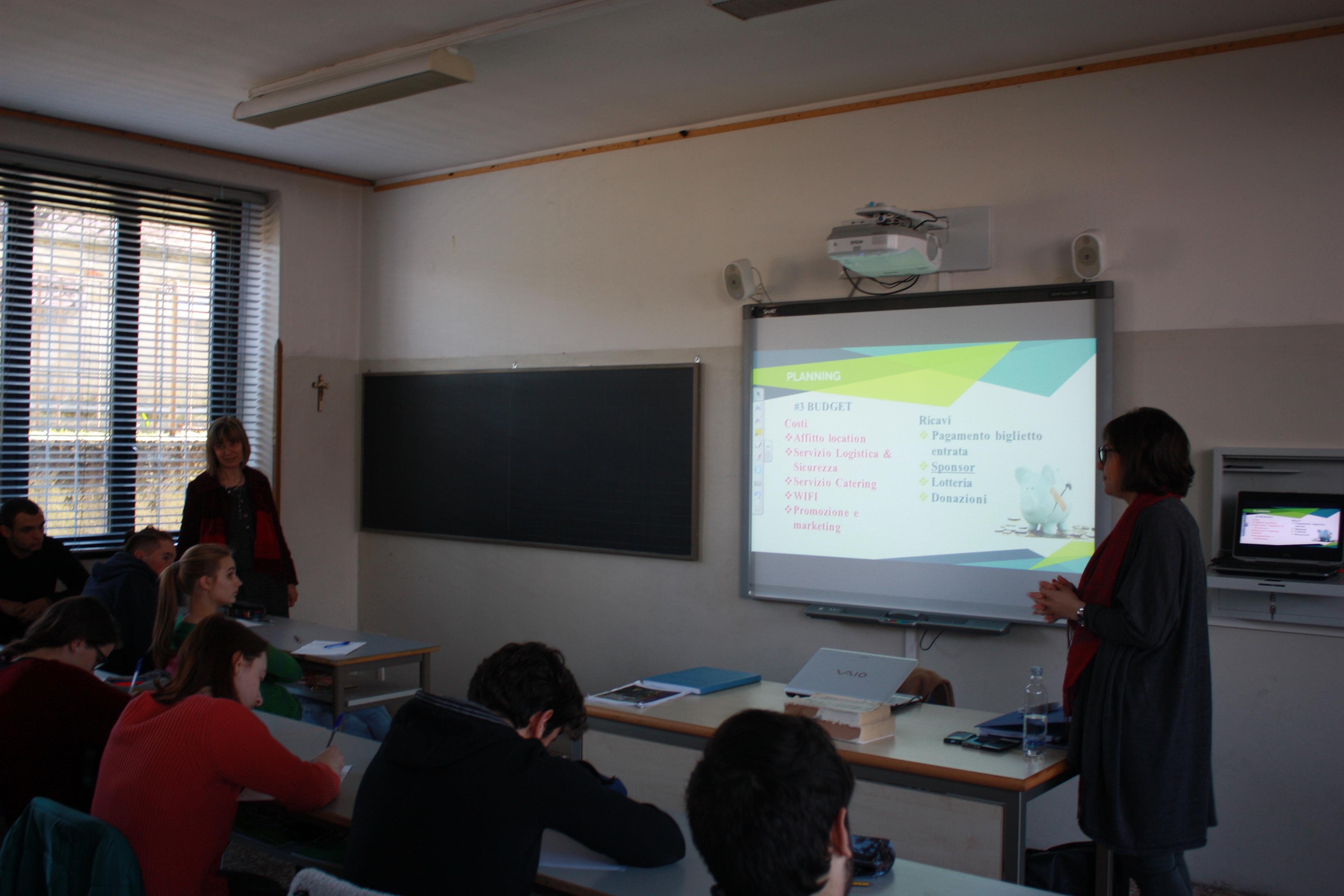Event Management al Liceo