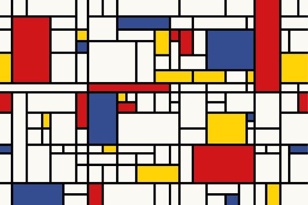 Come il grande Mondrian