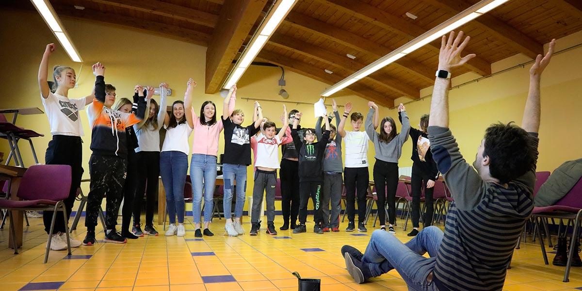 Scuola secondaria I° Frassati - Attività extrascolastica di teatro