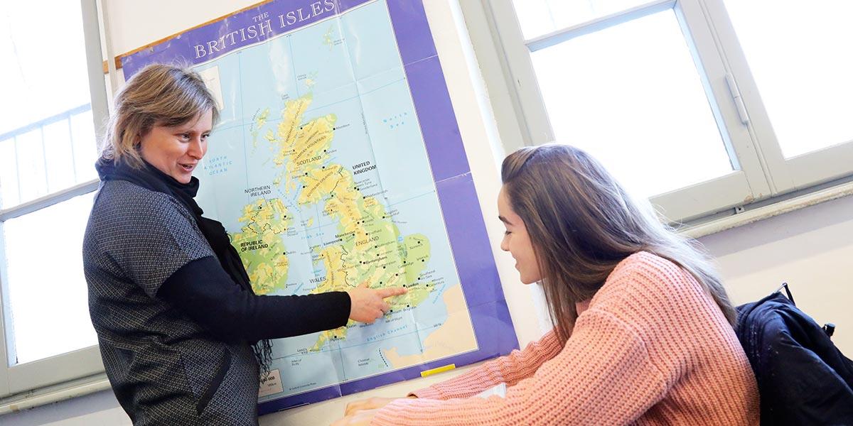 Scuola secondaria I° Frassati - Lezione di inglese potenziato