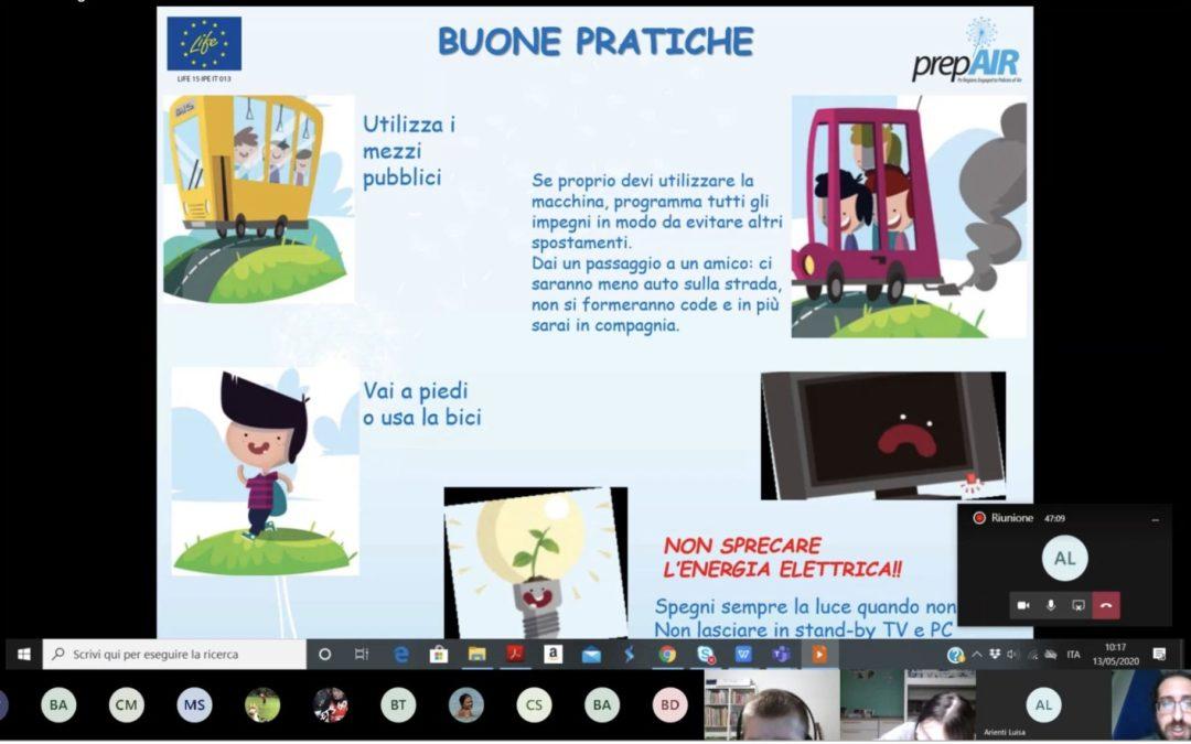 Aria fresca e pulita, la Frassati partecipa al progetto europeo Life – PrepAIR