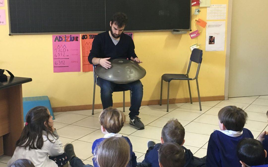 Hang drum, la primaria in ascolto di otto note dal sapore orientale