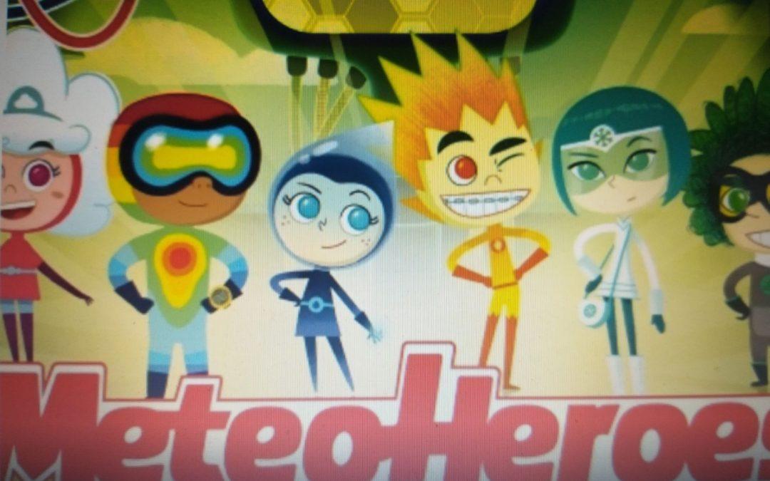 MeteoHeroes, al via i nuovi cartoons in Tv con la missione di salvare la Terra